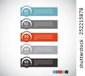 infographic design elements for ...   Shutterstock .eps vector #252215878