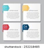 infographic design elements for ...   Shutterstock .eps vector #252218485