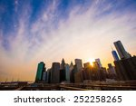 beautiful view of new york from ... | Shutterstock . vector #252258265