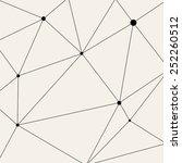 vector modern pattern. black... | Shutterstock .eps vector #252260512