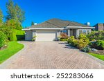 very neat and tidy home with... | Shutterstock . vector #252283066