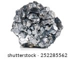 magnetite mineral isolated on... | Shutterstock . vector #252285562