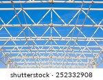 metal carcass construction on... | Shutterstock . vector #252332908