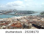 singapore city construction | Shutterstock . vector #25238173