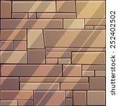 stone wall | Shutterstock .eps vector #252402502