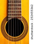 color detail of an acoustic... | Shutterstock . vector #252455362
