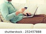 technology  shopping  banking ... | Shutterstock . vector #252457888