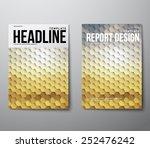 elegant modern abstract... | Shutterstock .eps vector #252476242