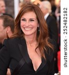 Small photo of LOS ANGELES - JAN 25: Julia Roberts arrives to the 21st Annual Screen Actors Guild Awards on January 25, 2015 in Los Angeles, CA