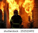 Firefighter Watches Old ...