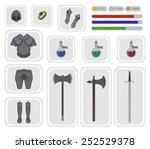 game inventory. knight warrior...