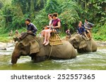 chiang mai  thailand   february ... | Shutterstock . vector #252557365