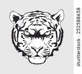 tiger | Shutterstock .eps vector #252588658