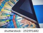 kazakhstan money with the... | Shutterstock . vector #252591682