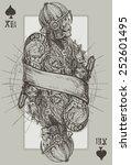 jack skeleton   Shutterstock .eps vector #252601495