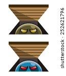 vector illustration of a... | Shutterstock .eps vector #252621796