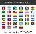 flag of america states vector... | Shutterstock .eps vector #252646675