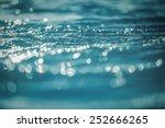 Vintage water bokeh background