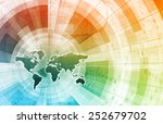 supply channel coordination or... | Shutterstock . vector #252679702