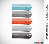 infographic templates for... | Shutterstock .eps vector #252684652