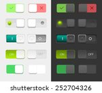 vector user interface set...