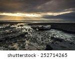Sunburst At Coast Of New...