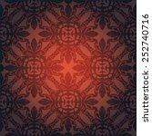 seamless pattern. abstract... | Shutterstock .eps vector #252740716