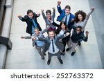young multi ethnic business... | Shutterstock . vector #252763372