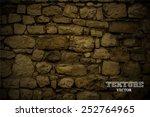 stones background vector | Shutterstock .eps vector #252764965