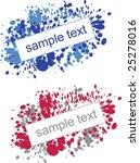 splatter paint effect... | Shutterstock .eps vector #25278016