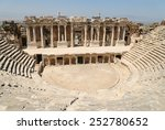 Ruins Of Roman Theater In...