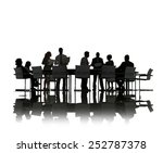 business people discussion... | Shutterstock . vector #252787378