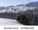 Ore Mountains In Winter