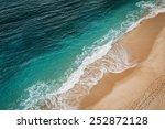 wave on the navy beach  praia... | Shutterstock . vector #252872128