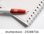 notepad  notes | Shutterstock . vector #25288726