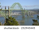 Yaquina Bay Bridge Panorama...