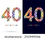 40  Colorful Font  Designed...