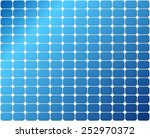 repeatable solar panel pattern  ... | Shutterstock .eps vector #252970372