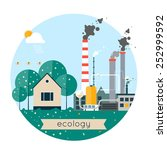 vector flat illustration of... | Shutterstock .eps vector #252999592