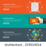website headers or promotion... | Shutterstock .eps vector #253014016