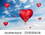 love balloons    Shutterstock . vector #253030618
