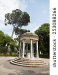 the grounds of the borghese... | Shutterstock . vector #253088266