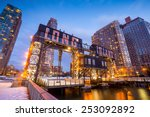 the buildings of long island in ... | Shutterstock . vector #253092892