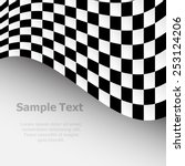 racing background with... | Shutterstock .eps vector #253124206
