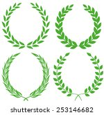 laurel wreath | Shutterstock .eps vector #253146682