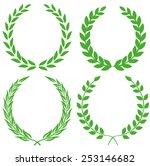 laurel wreath | Shutterstock .eps vector #253146682