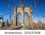 Brooklyn Bridge  New York City....