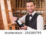 choosing the best wine for you. ... | Shutterstock . vector #253285795