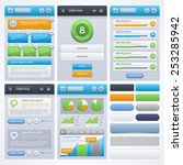 ui design. various elements for ...