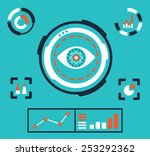vector illustration of... | Shutterstock .eps vector #253292362